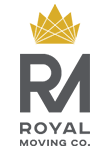 Royal Moving Company Glendale Logo