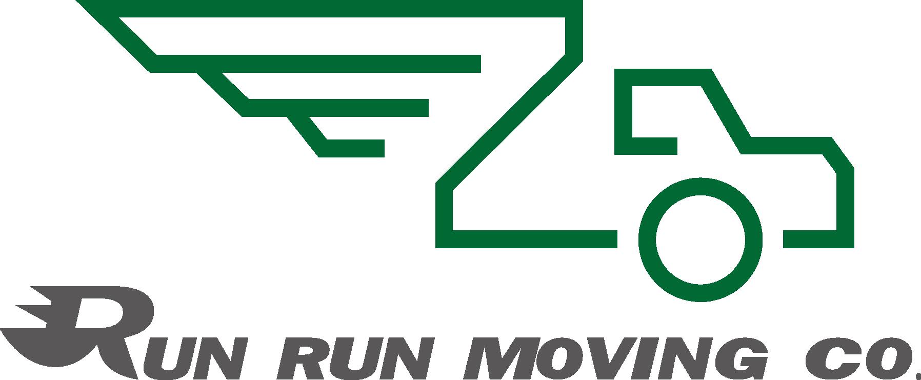 Run Run Moving Company Logo