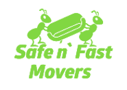 Safe N' Fast Movers Logo