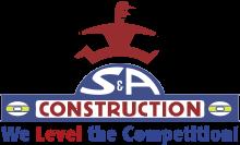 S & A Construction, Inc. Logo