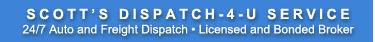 Scott's Auto Transport & Car Shipping Service of Lexington, KY Logo