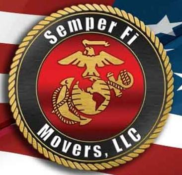 Semper Fi Movers LLC Storage Warehouse Logo