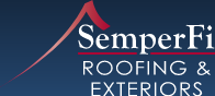 Semper Fi Roofing & Exteriors Logo