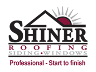 Shiner Roofing, Siding and Windows Logo