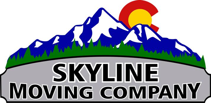 Skyline Moving Company Logo