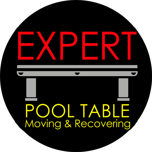 Expert Pool Table Moving & Recovering Logo
