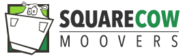 Square Cow Movers Logo
