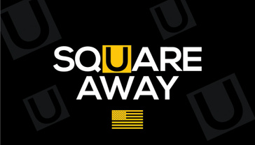Square U Away Logo