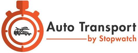 Auto Transport - Stopwatch Logo