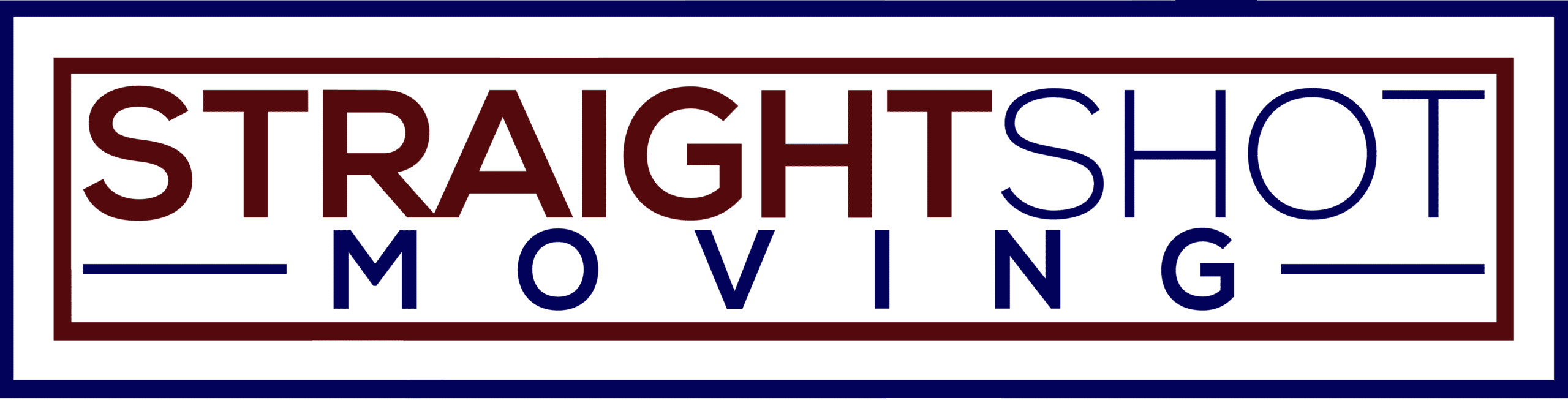 Straight Shot Moving Logo