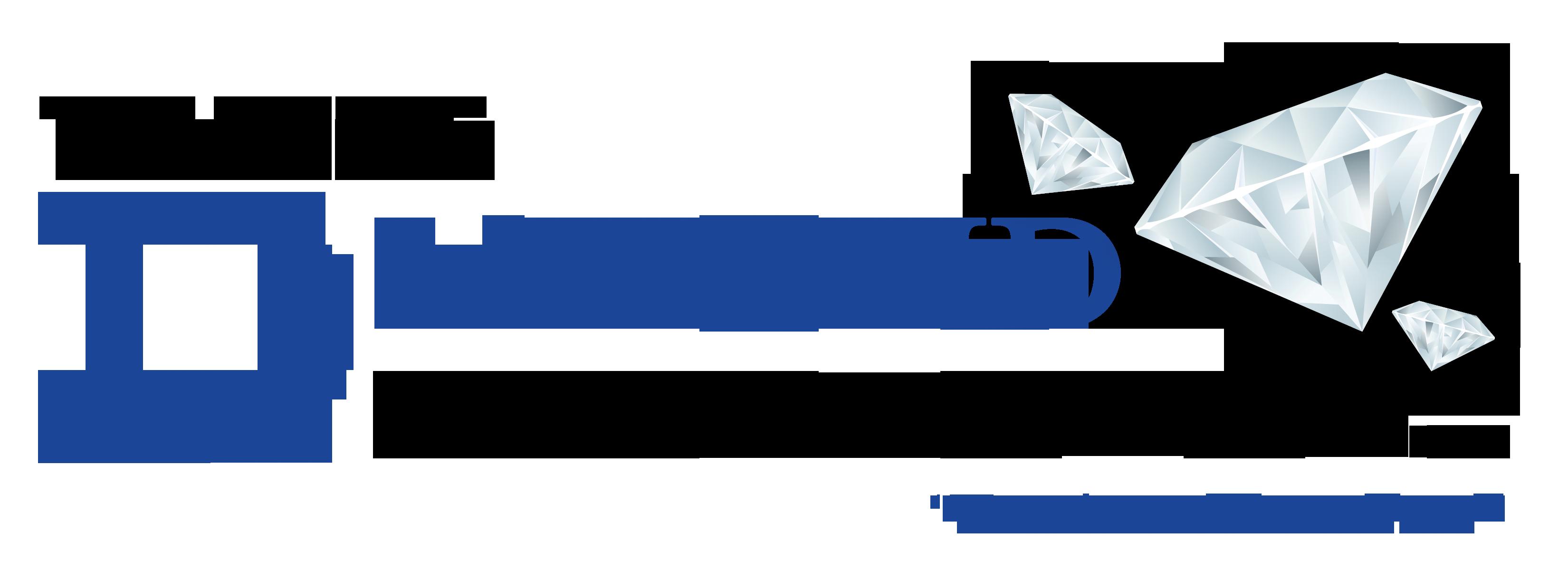 Triple Diamond Construction Logo