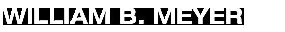 William B Meyer Logo