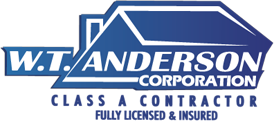 WT Anderson Roofing Logo