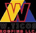 W. Ticos Roofing LLC Logo