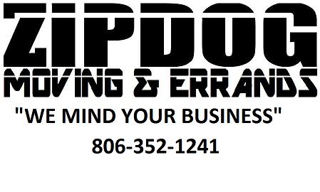 Zipdog Moving Service Logo