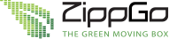 ZippGo Moving Boxes Logo