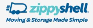 Zippy Shell - Moving and Storage Company Logo
